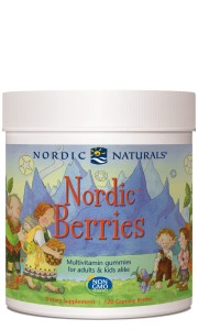 NORDIC NATURALS NORDIC BERRIES MULTIWITAMINA 120 żelek